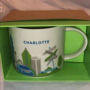 NIB Starbucks Charlotte YAH Mug